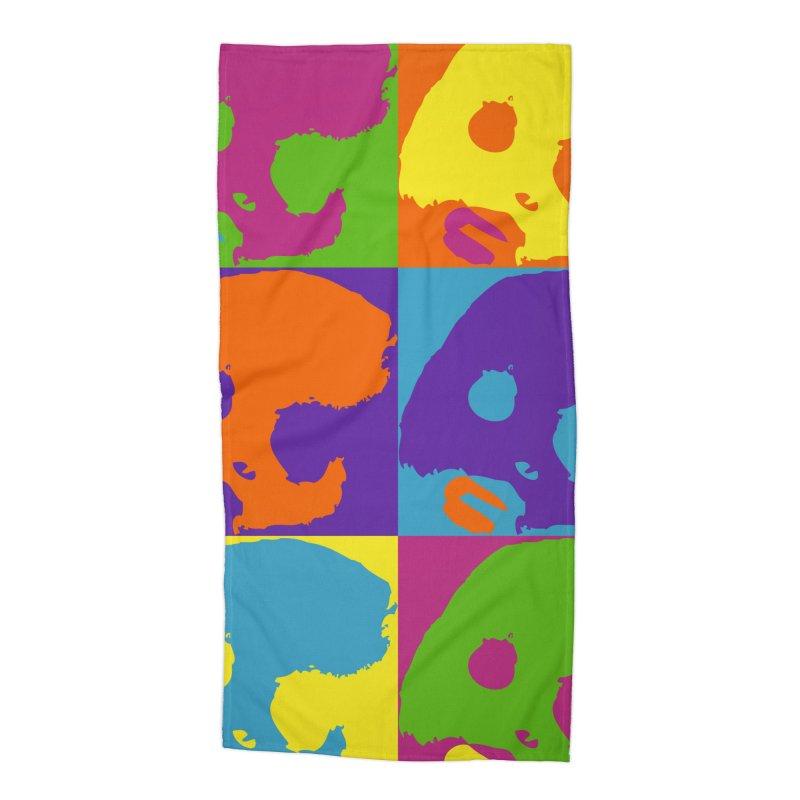 CasaNorte - Colors Accessories Beach Towel by CasaNorte's Artist Shop