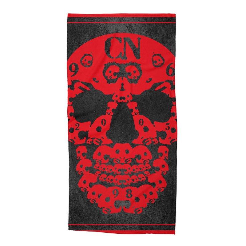 CasaNorte - CN SkullR Accessories Beach Towel by CasaNorte's Artist Shop