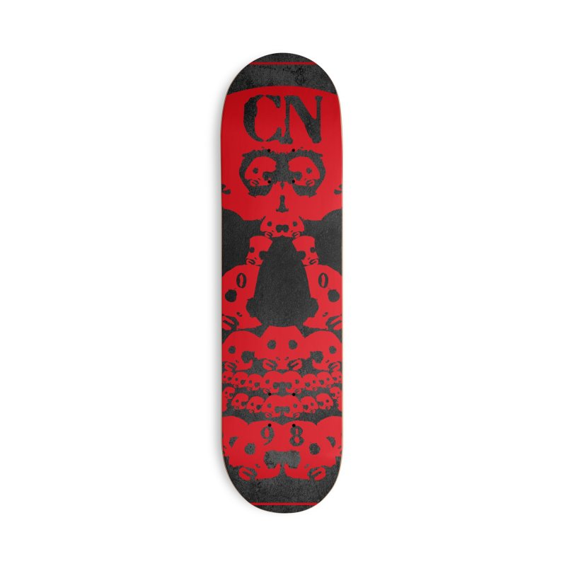 CasaNorte - CN SkullR Accessories Deck Only Skateboard by Casa Norte's Artist Shop