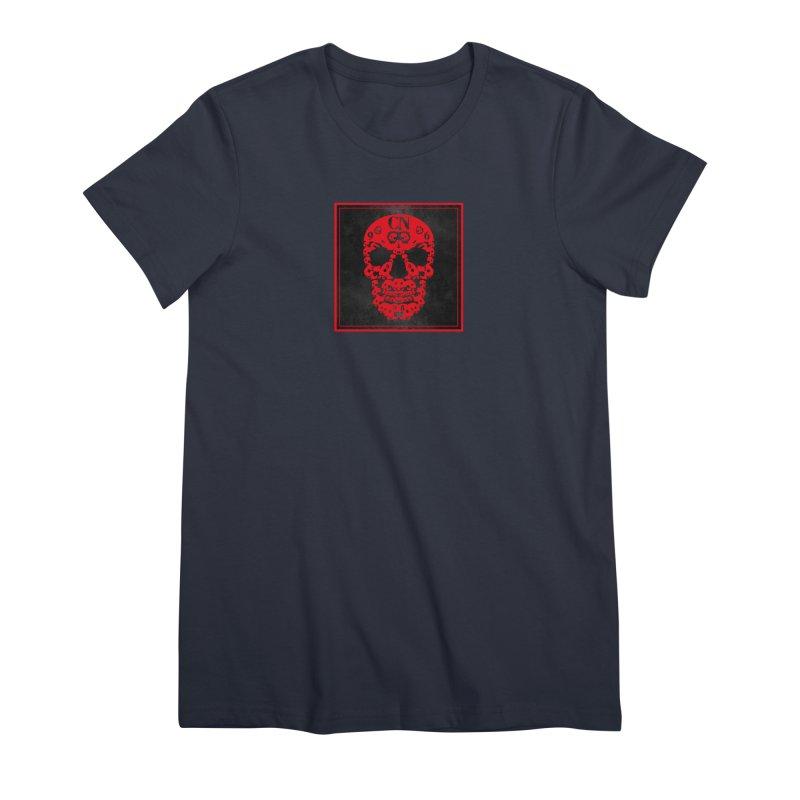 CasaNorte - CN SkullR Women's Premium T-Shirt by CasaNorte's Artist Shop