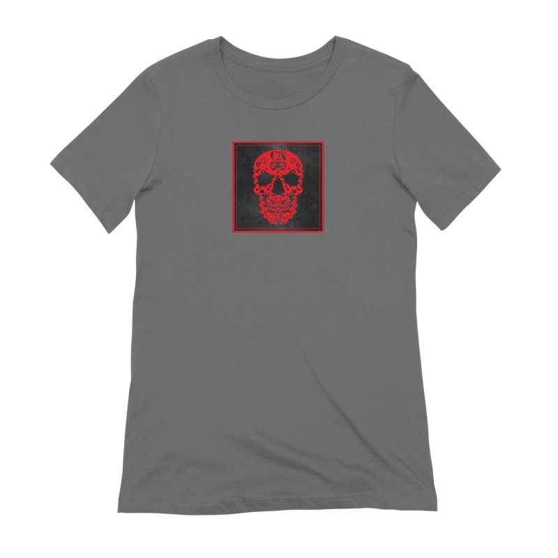 CasaNorte - CN SkullR Women's Extra Soft T-Shirt by Casa Norte's Artist Shop