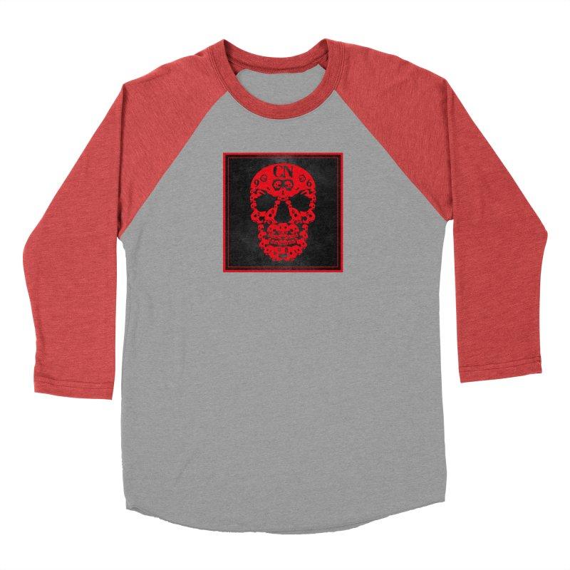 CasaNorte - CN SkullR Women's Baseball Triblend Longsleeve T-Shirt by Casa Norte's Artist Shop