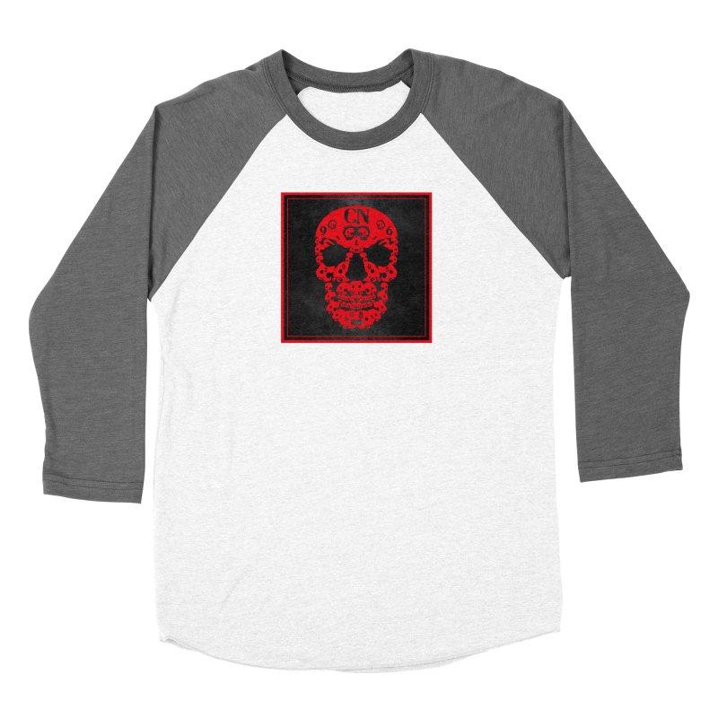 CasaNorte - CN SkullR Men's Baseball Triblend Longsleeve T-Shirt by CasaNorte's Artist Shop