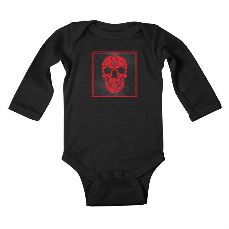 CasaNorte - CN SkullR Kids Baby Longsleeve Bodysuit by CasaNorte's Artist Shop