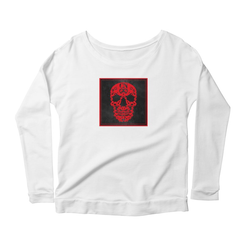 CasaNorte - CN SkullR Women's Scoop Neck Longsleeve T-Shirt by CasaNorte's Artist Shop