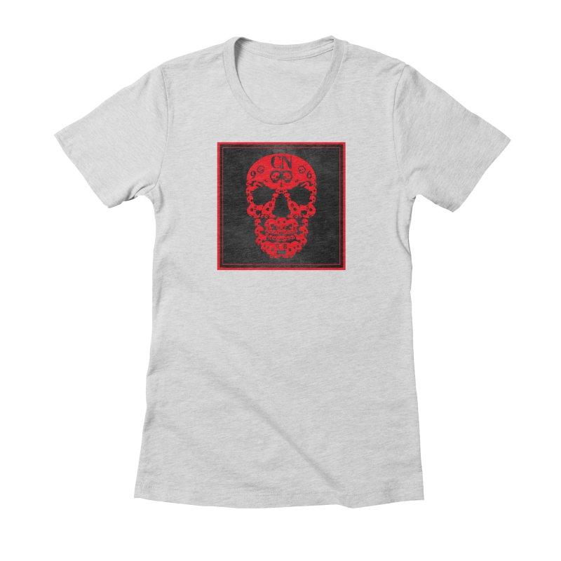 CasaNorte - CN SkullR Women's Fitted T-Shirt by CasaNorte's Artist Shop