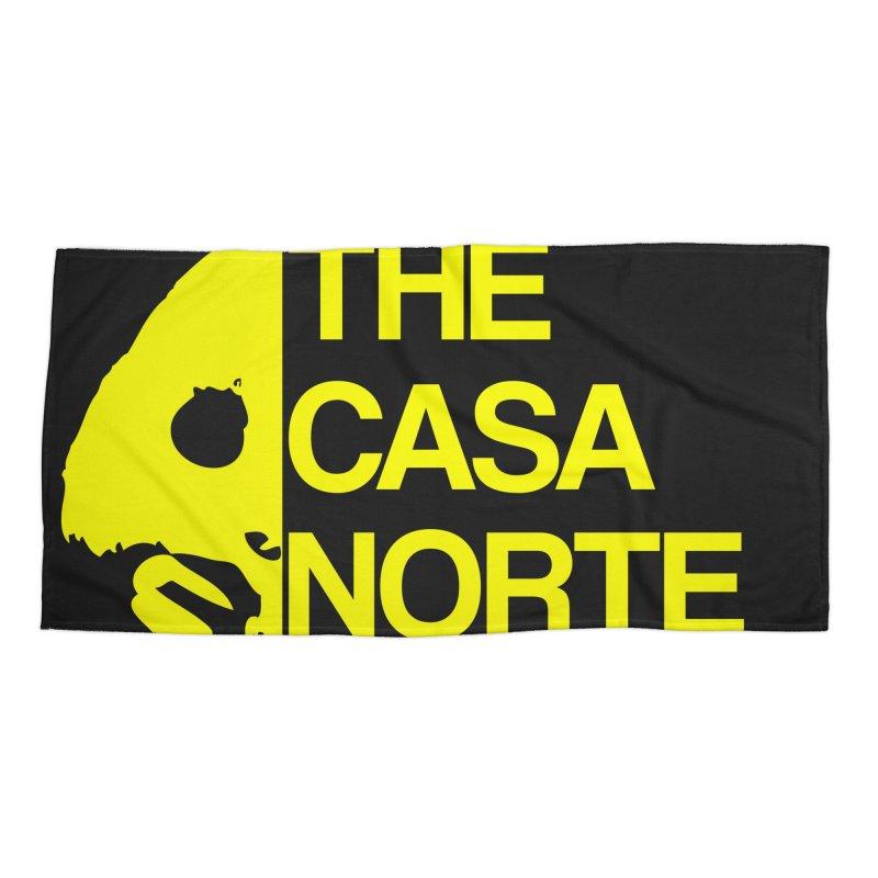 CasaNorte - The Casa Norte Accessories Beach Towel by CasaNorte's Artist Shop