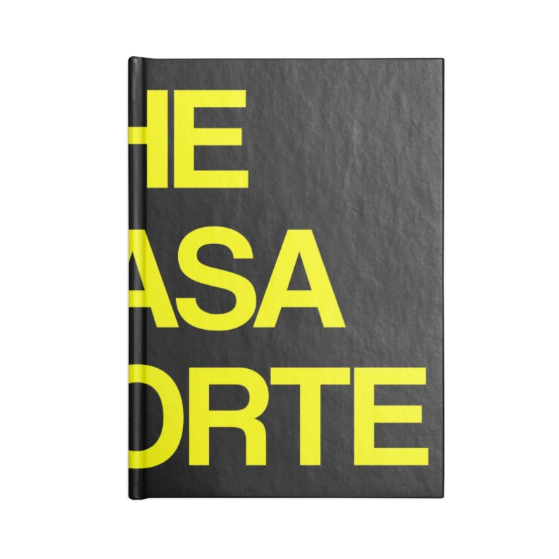 CasaNorte - The Casa Norte Accessories Blank Journal Notebook by Casa Norte's Artist Shop