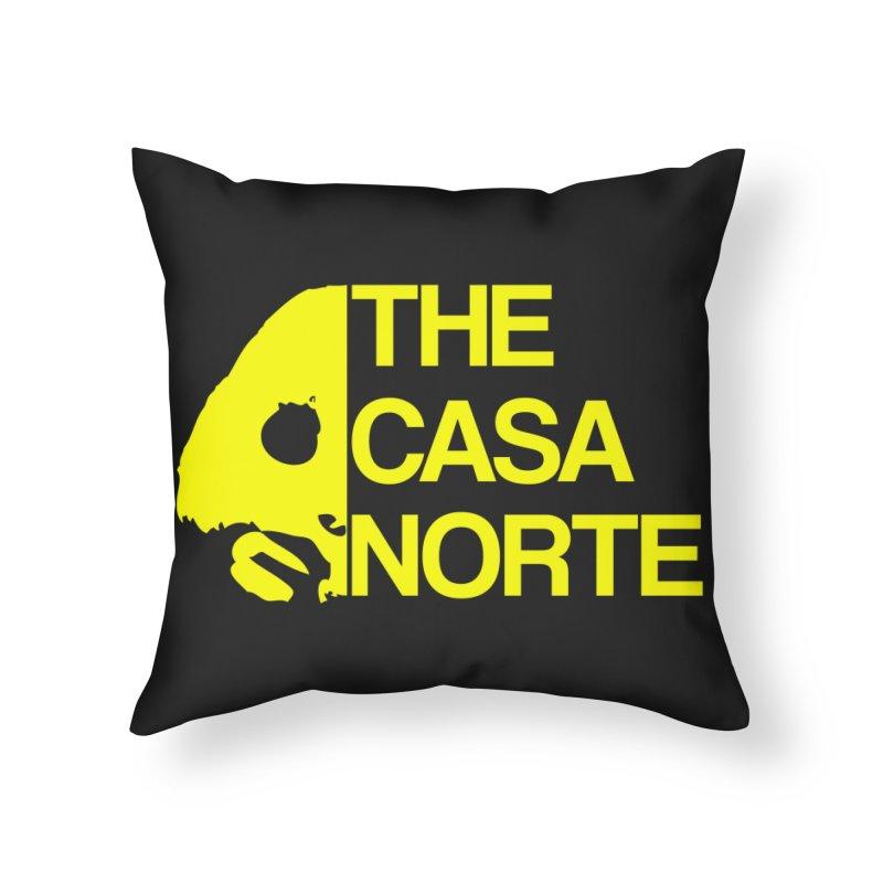 CasaNorte - The Casa Norte Home Throw Pillow by CasaNorte's Artist Shop