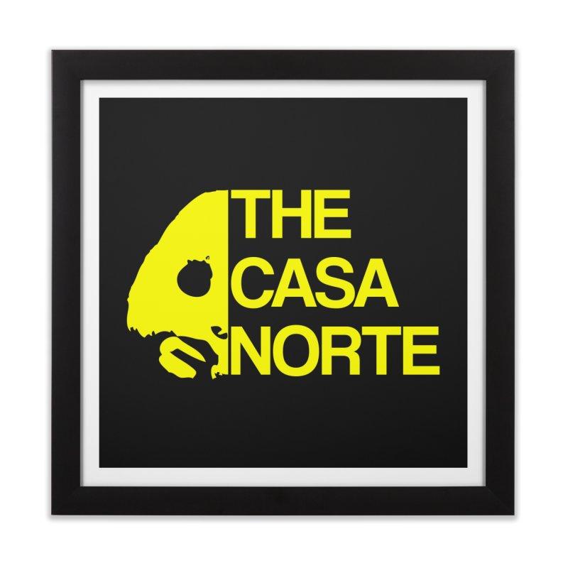 CasaNorte - The Casa Norte Home Framed Fine Art Print by CasaNorte's Artist Shop