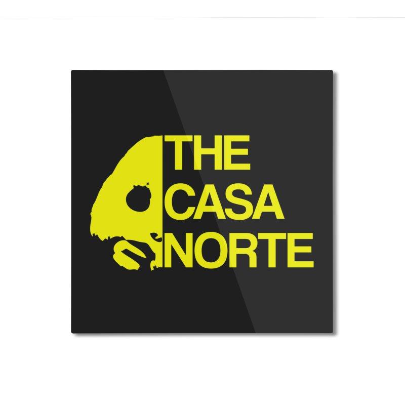 CasaNorte - The Casa Norte Home Mounted Aluminum Print by CasaNorte's Artist Shop