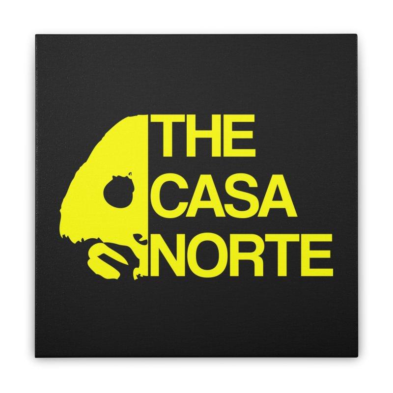 CasaNorte - The Casa Norte Home Stretched Canvas by CasaNorte's Artist Shop