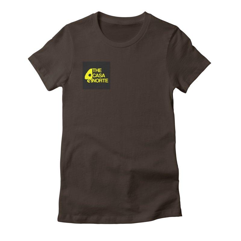 CasaNorte - The Casa Norte Women's Fitted T-Shirt by CasaNorte's Artist Shop