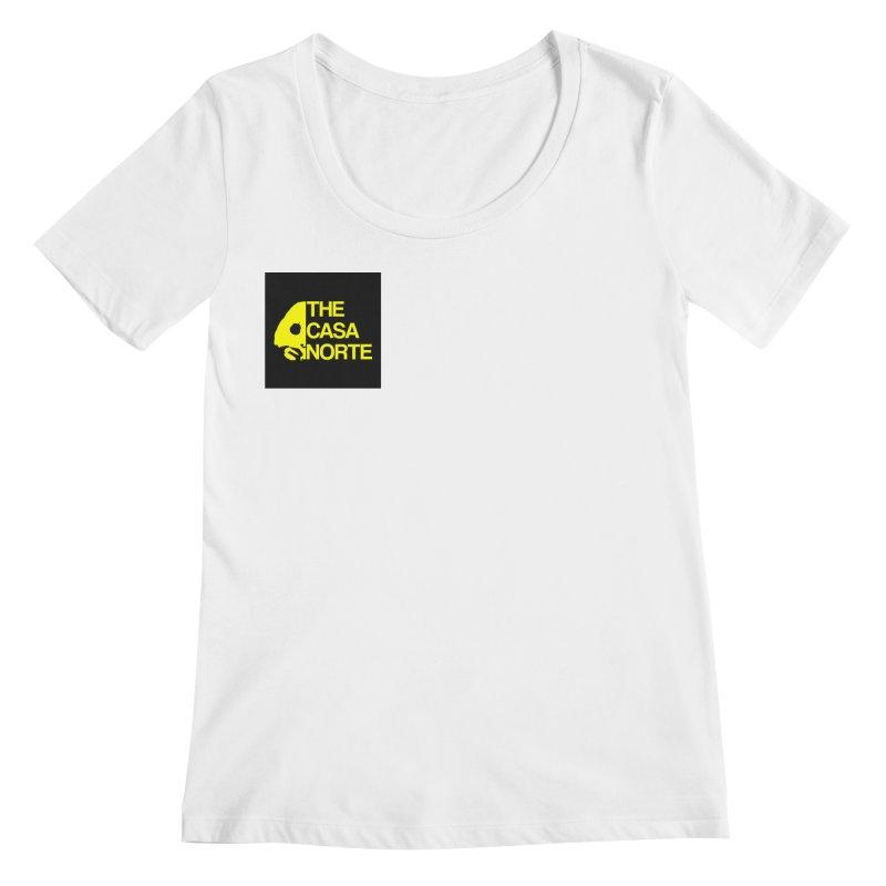CasaNorte - The Casa Norte Women's Regular Scoop Neck by Casa Norte's Artist Shop