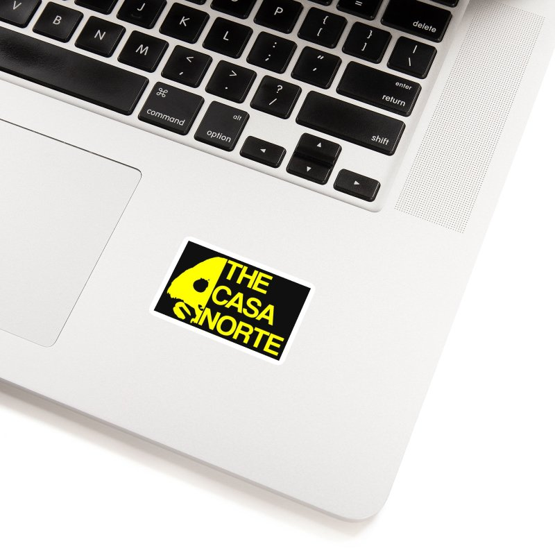 CasaNorte - The Casa Norte Accessories Sticker by CasaNorte's Artist Shop