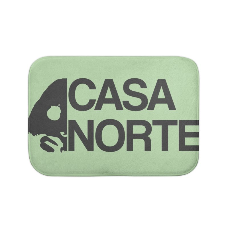 CasaNorte - Casa Norte Hlf Home Bath Mat by CasaNorte's Artist Shop