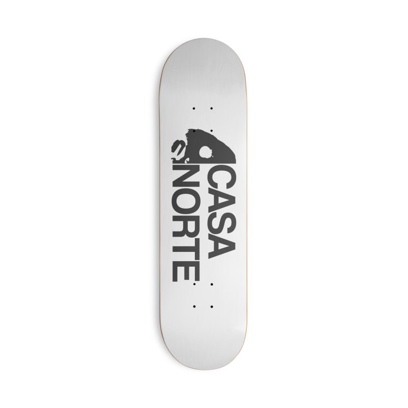 CasaNorte - Casa Norte Hlf Accessories Deck Only Skateboard by Casa Norte's Artist Shop