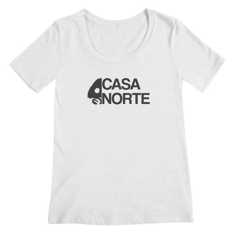 CasaNorte - Casa Norte Hlf Women's Regular Scoop Neck by Casa Norte's Artist Shop