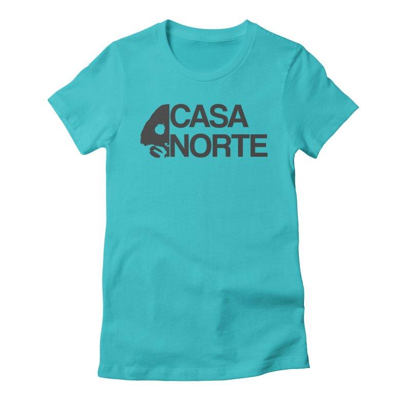 CasaNorte - Casa Norte Hlf Women's Fitted T-Shirt by CasaNorte's Artist Shop