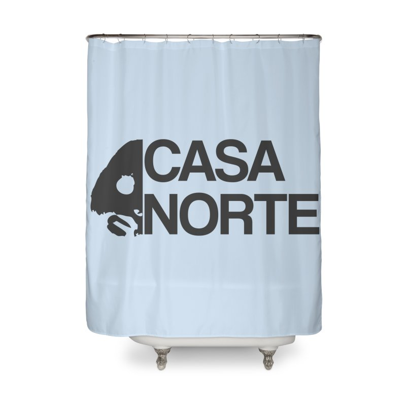 CasaNorte - Casa Norte Hlf Home Shower Curtain by CasaNorte's Artist Shop