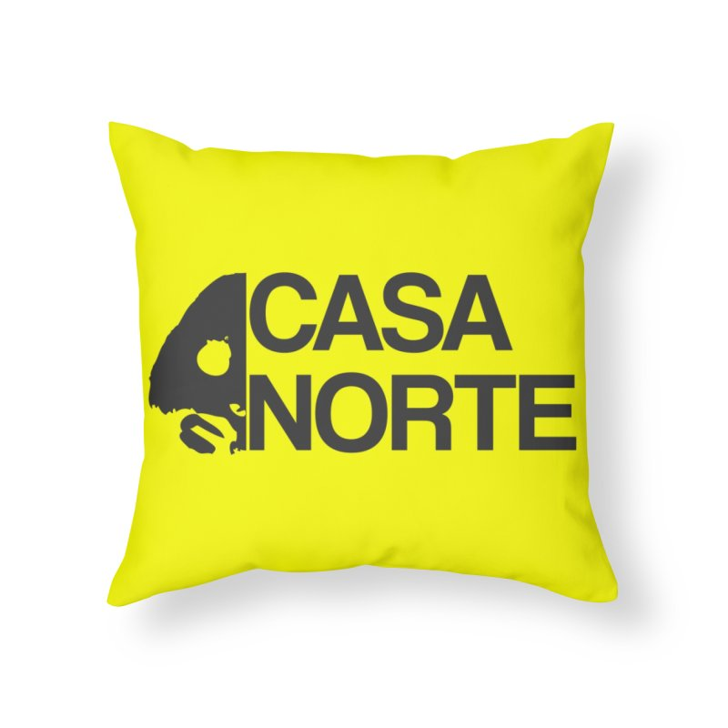 CasaNorte - Casa Norte Hlf Home Throw Pillow by CasaNorte's Artist Shop