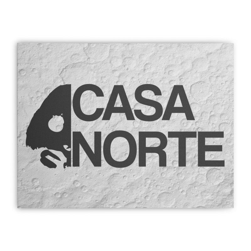 CasaNorte - Casa Norte Hlf Home Stretched Canvas by CasaNorte's Artist Shop