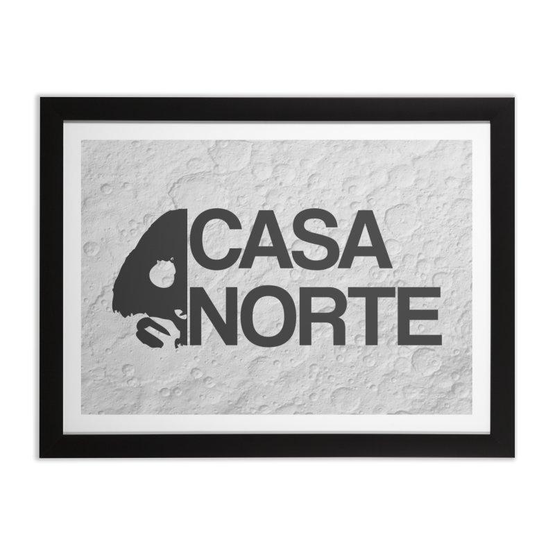 CasaNorte - Casa Norte Hlf Home Framed Fine Art Print by CasaNorte's Artist Shop