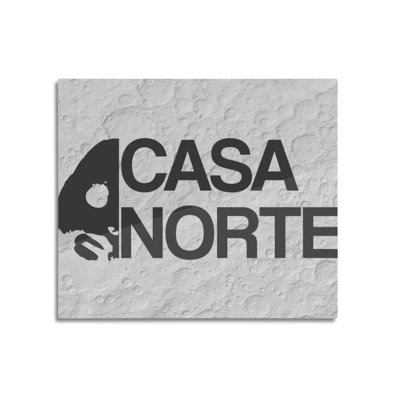 CasaNorte - Casa Norte Hlf Home Mounted Aluminum Print by CasaNorte's Artist Shop