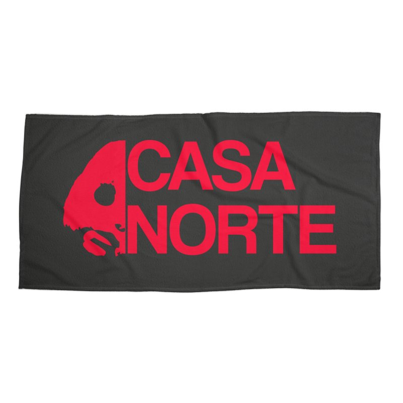 CasaNorte - Casa Norte HlfR Accessories Beach Towel by Casa Norte's Artist Shop