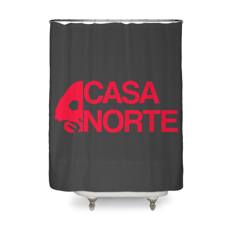 CasaNorte - Casa Norte HlfR Home Shower Curtain by CasaNorte's Artist Shop