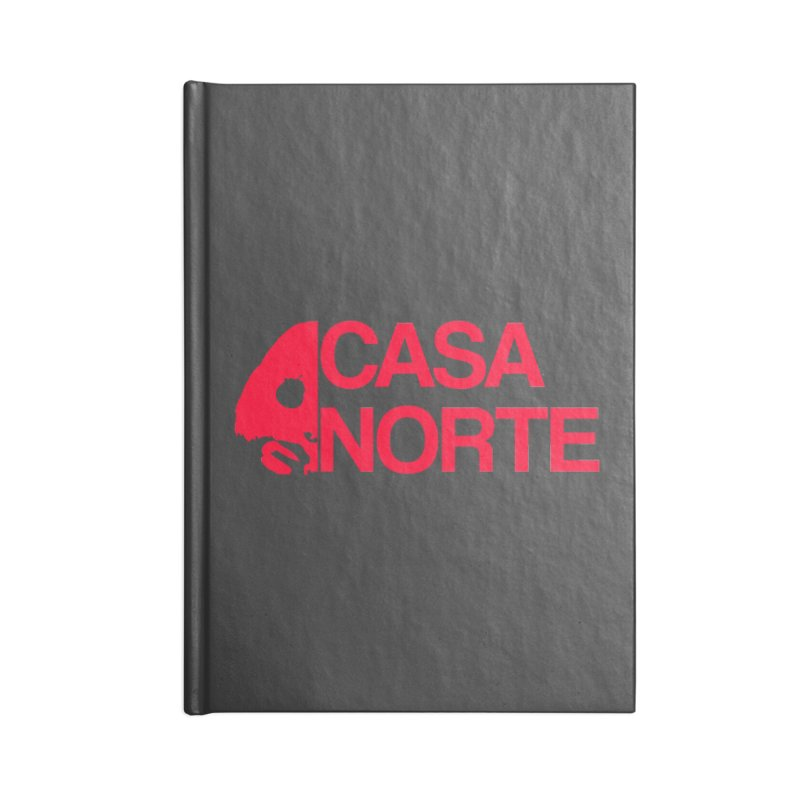 CasaNorte - Casa Norte HlfR Accessories Notebook by Casa Norte's Artist Shop