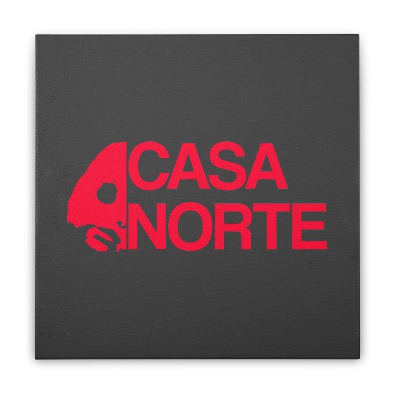 CasaNorte - Casa Norte HlfR Home Stretched Canvas by CasaNorte's Artist Shop