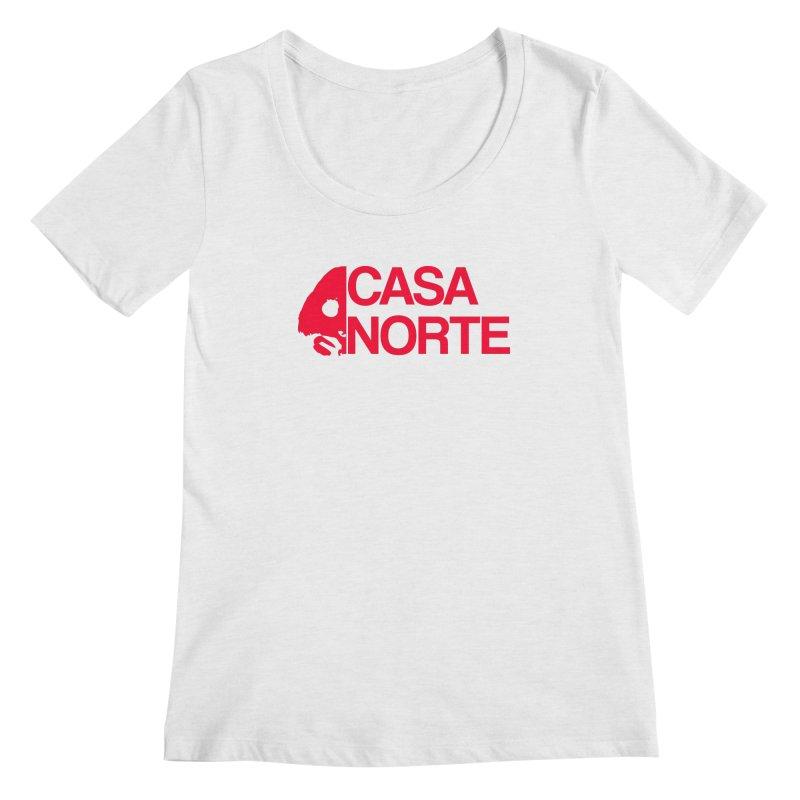CasaNorte - Casa Norte HlfR Women's Regular Scoop Neck by Casa Norte's Artist Shop