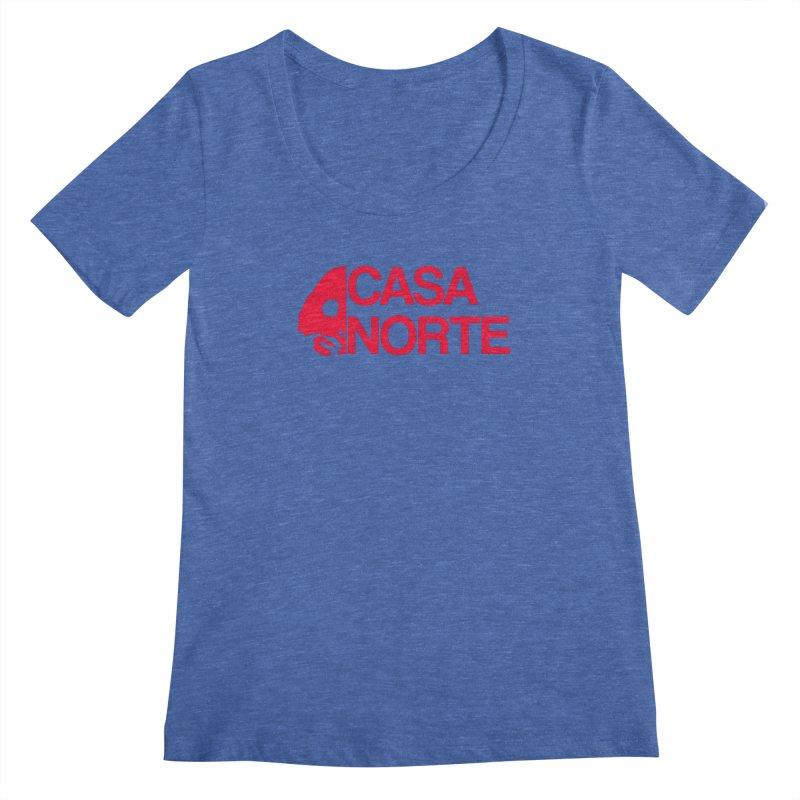 CasaNorte - Casa Norte HlfR Women's Regular Scoop Neck by CasaNorte's Artist Shop
