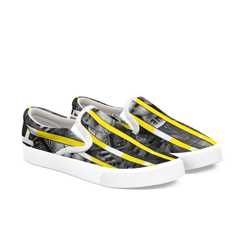 CasaNorte - Slice Men's Slip-On Shoes by CasaNorte's Artist Shop