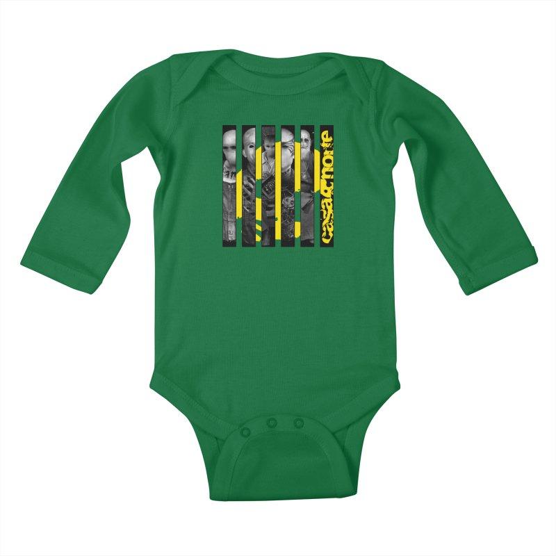 CasaNorte - Slice Kids Baby Longsleeve Bodysuit by CasaNorte's Artist Shop