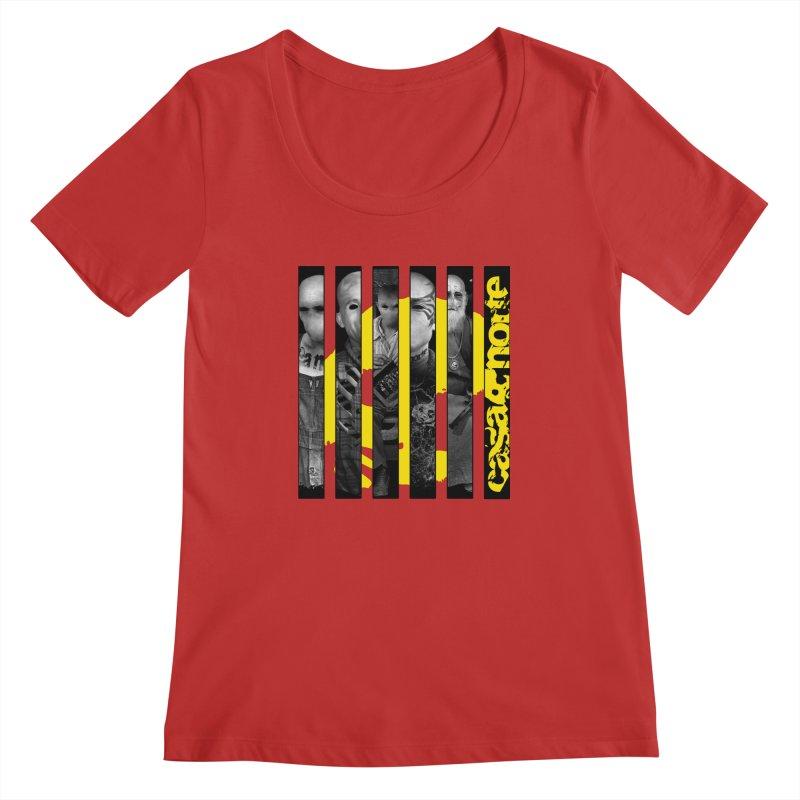 CasaNorte - Slice Women's Regular Scoop Neck by Casa Norte's Artist Shop