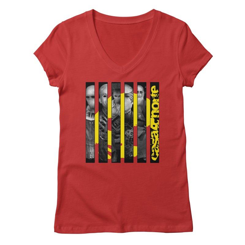 CasaNorte - Slice Women's Regular V-Neck by CasaNorte's Artist Shop