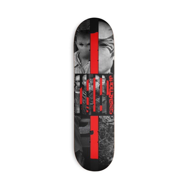 CasaNorte - Slice Accessories Deck Only Skateboard by Casa Norte's Artist Shop