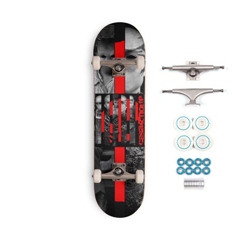 CasaNorte - Slice Accessories Skateboard by Casa Norte's Artist Shop