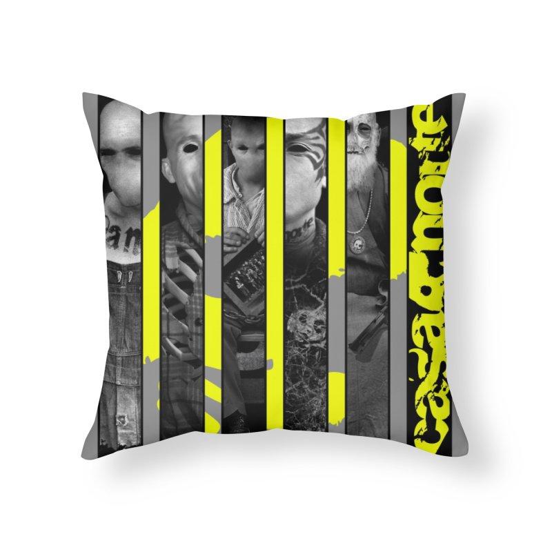 CasaNorte - Slice Home Throw Pillow by CasaNorte's Artist Shop