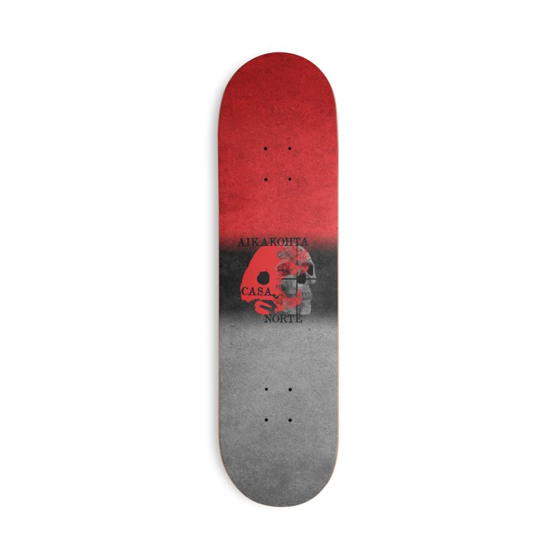 CasaNorte - Puolet Accessories Deck Only Skateboard by Casa Norte's Artist Shop