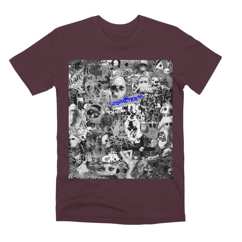 CasaNorte - CNWorldMV Men's Premium T-Shirt by Casa Norte's Artist Shop