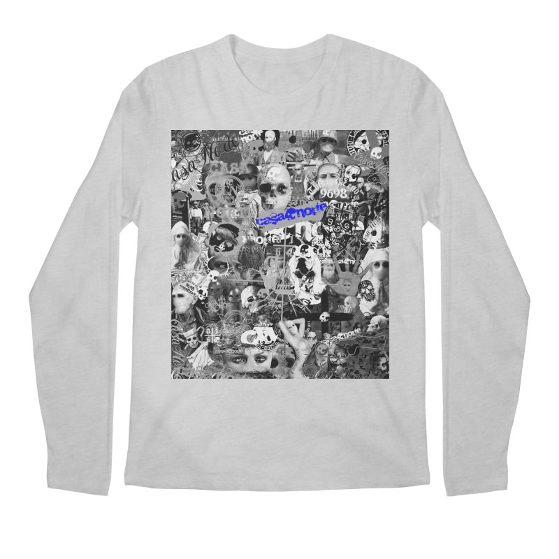 CasaNorte - CNWorldMV Men's Regular Longsleeve T-Shirt by Casa Norte's Artist Shop