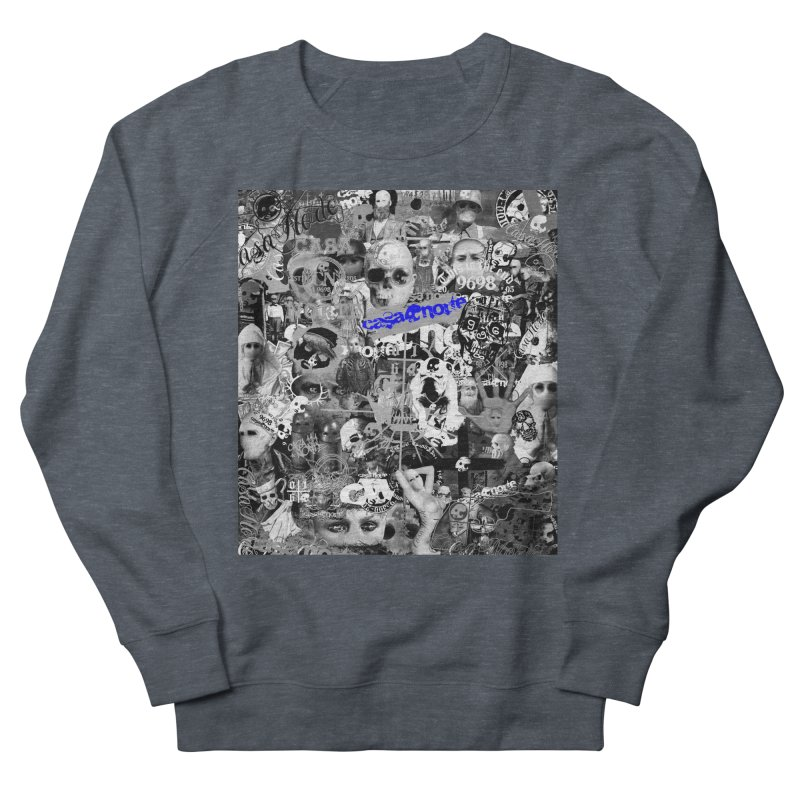 CasaNorte - CNWorldMV Women's French Terry Sweatshirt by Casa Norte's Artist Shop