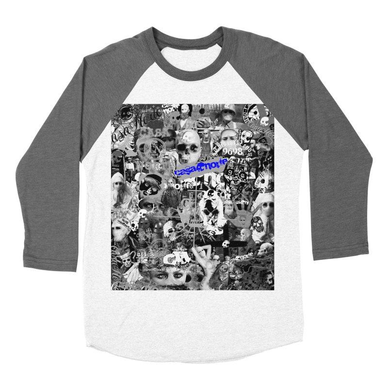 CasaNorte - CNWorldMV Men's Baseball Triblend Longsleeve T-Shirt by Casa Norte's Artist Shop