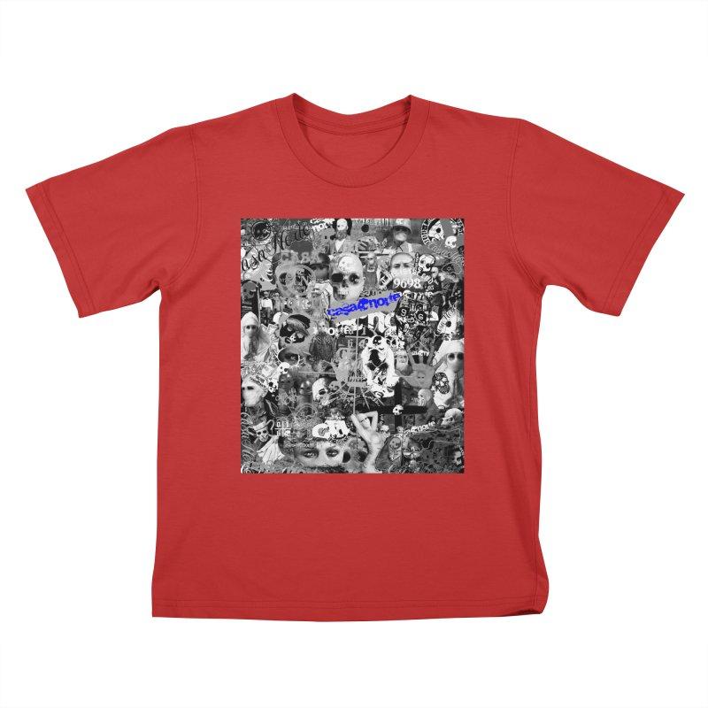 CasaNorte - CNWorldMV Kids T-Shirt by Casa Norte's Artist Shop