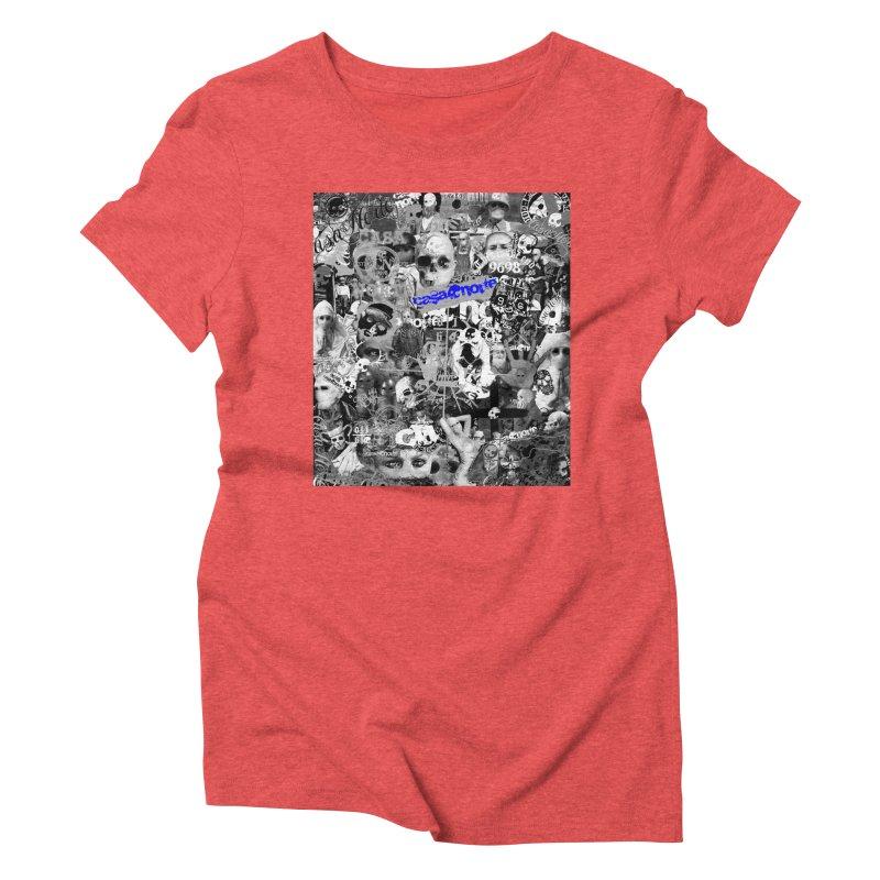 CasaNorte - CNWorldMV Women's Triblend T-Shirt by Casa Norte's Artist Shop