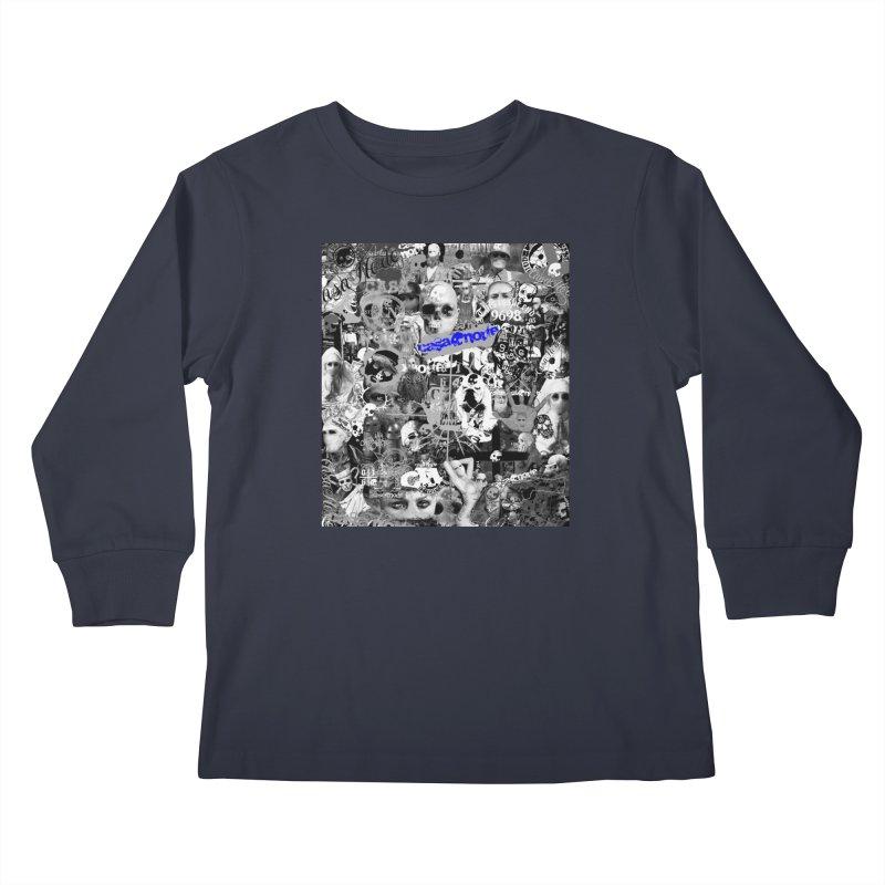 CasaNorte - CNWorldMV Kids Longsleeve T-Shirt by Casa Norte's Artist Shop
