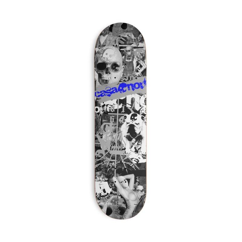 CasaNorte - CNWorldMV Accessories Skateboard by Casa Norte's Artist Shop
